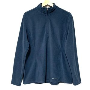 Eddie Bauer 1/4 Zip Lightweight Fleece